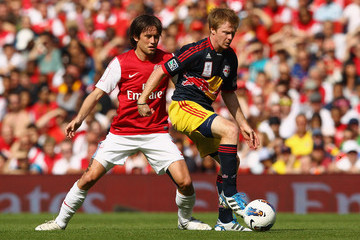 Dax McCarty Arsenal v New York Red Bulls - Emirates Cup