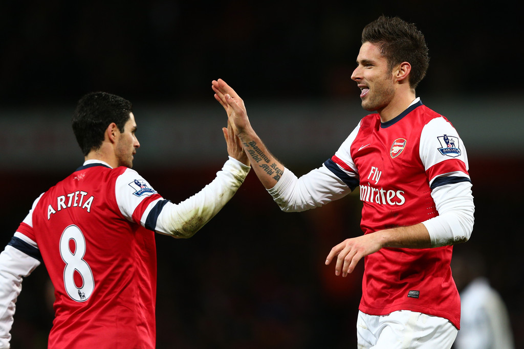 Arsenal Vs Newcastle: Mikel Arteta In Arsenal V Newcastle United