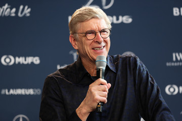 Arsene Wenger Media Interviews - 2020 Laureus World Sports Awards - Berlin  Laureus Media Center