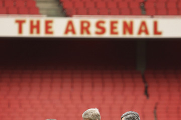 Nicolas Sarkozy Arsene Wenger Marks 1000th Match
