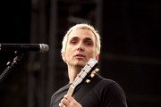 Singer Art Alexakis of the rock band Everclear performs at the Music Midtown concert May 4, 2003 in Atlanta, Georgia. The Music Midtown event features over 120 international, national and local musical acts performing on 11 stages over a 3-day period on a 40 acre complex.