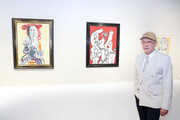 Art Collector Eugene Sadovoy attends the Art Basel Miami Beach 2019 Private Day Opening at Miami Beach Convention Center on December 04, 2019 in Miami Beach, Florida.