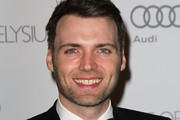 """Actor Seth Gabel attends the Art of Elysium's 6th Annual Black-tie Gala """"Heaven"""" at 2nd Street Tunnel on January 12, 2013 in Los Angeles, California."""