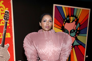 Kat Graham attends The Art Of Elysium Presents WE ARE HEAR'S HEAVEN 2020 at Hollywood Palladium on January 04, 2020 in Los Angeles, California.