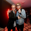 Mick Rock and Billy Idol