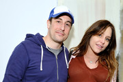 (L-R) Jason Biggs and Jenny Mollen attend Art Los Angeles Contemporary: Vanity Projects and A Talk with Dave Hickey on February 1, 2014 in Santa Monica, California.
