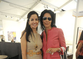 Dayssi Olarte de Kanavos and Kim Heirston attends Art Miami Museum Professional + Curators Brunch honoring Faith Ringgold on December 1, 2011 in Miami, Florida.