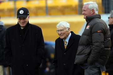 Art Rooney II Cleveland Browns v Pittsburgh Steelers