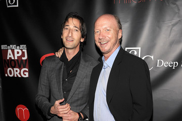 """Adrien Brody Paul Haggis Artists For Peace And Justice's """"Let's Build A School For Haiti"""" Fundraising Dinner - Arrivals"""