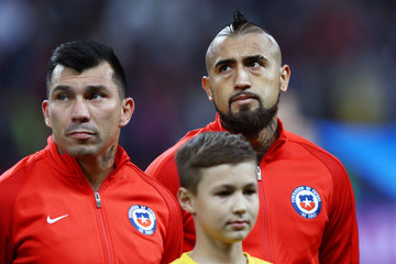 Arturo Vidal Germany v Chile: Group B - FIFA Confederations Cup Russia 2017