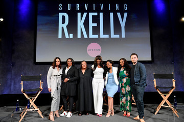 Asante McGee The Executive Producers And Survivors Featured In Lifetime's 'Surviving R Kelly' Attend The Emmy FYC Screening At The Paley Center For Media In New York