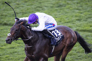 Paul Hanagan riding Sands Of Mali on his way to winning The Qipco British Champions Sprint Stakes during Ascot Races QIPCO British Champions Day at Ascot Racecourse on October 20, 2018 in Ascot, England.