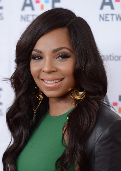 Ashanti Photos Arrivals At The A E Networks Upfront
