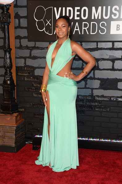 Ashanti - Arrivals at the MTV Video Music Awards — Part 4