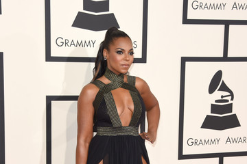Ashanti 57th GRAMMY Awards - Arrivals