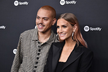 """Ashlee Simpson Spotify Hosts """"Best New Artist"""" Party At The Lot Studios - Red Carpet"""