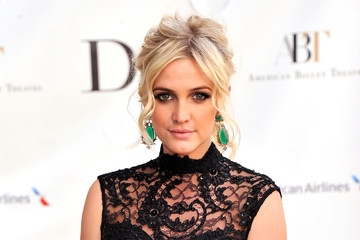 Ashlee Simpson Celebs at the American Ballet Spring Gala