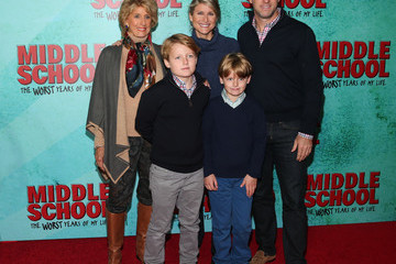 Ashleigh Banfield New York Red Carpet Screening of 'Middle School: The Worst Years of My Life'