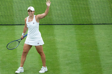 Ashleigh Barty Day Eight: The Championships - Wimbledon 2021
