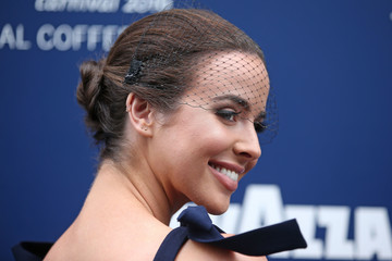 Ashleigh Brewer Celebrities Attend Stakes Day