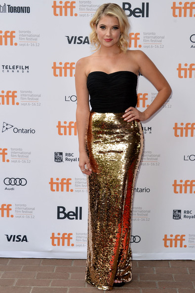 "Ashley Benson - ""Spring Breakers"" Premiere - Arrivals - 2012 Toronto International Film Festival"