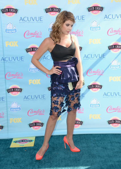 Ashley Benson - Teen Choice Awards 2013 - Arrivals