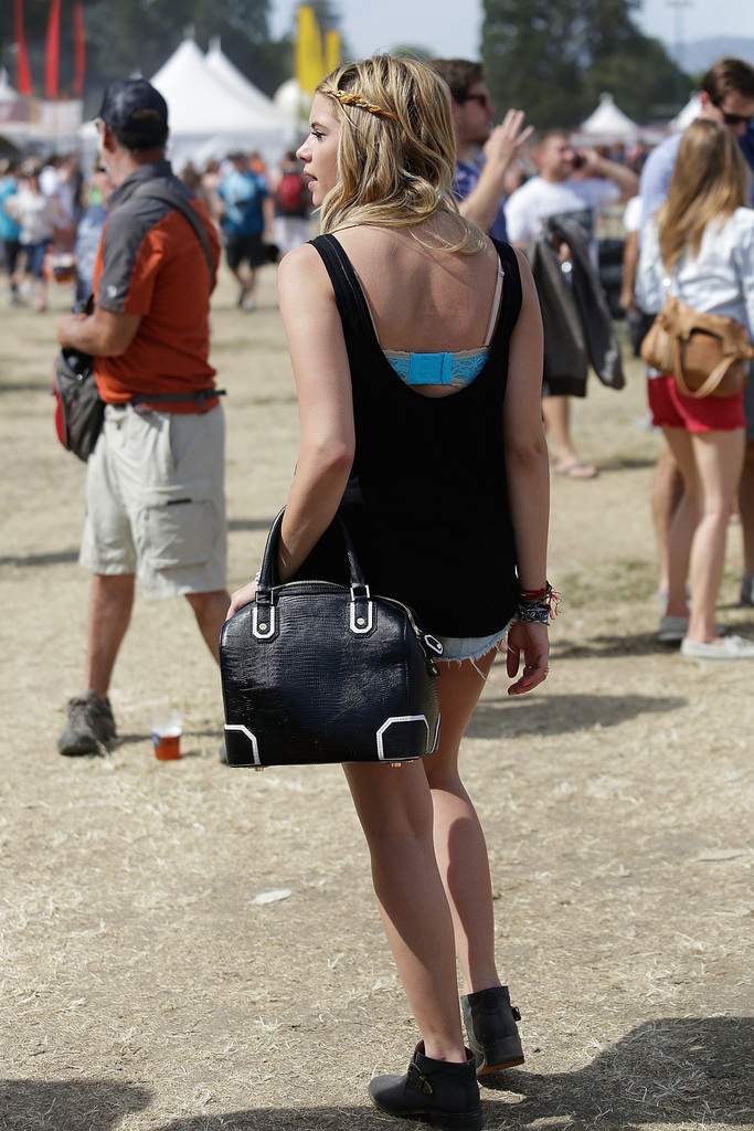 Ashley benson pictures ashley benson spotted at bottlerock in napa