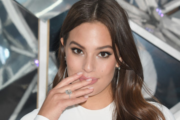 Ashley Graham Celebs Attend a Forevermark NYC Event