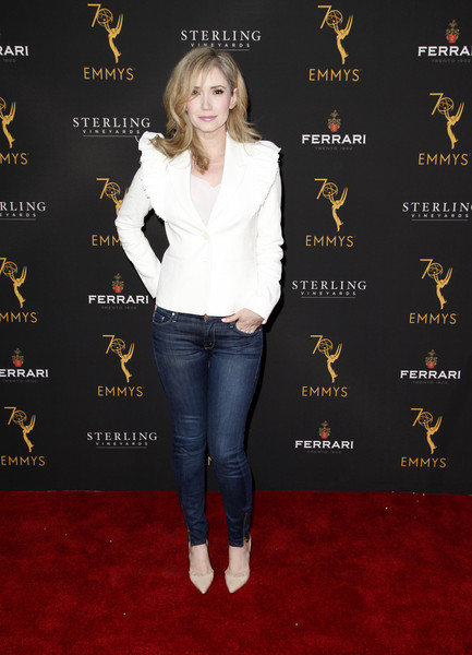Television Academy's Daytime Programming Peer Group Reception - Arrivals [clothing,footwear,jeans,carpet,premiere,flooring,outerwear,denim,shoe,style,arrivals,ashley jones,north hollywood,california,saban media center,television academy,daytime programming peer group reception]