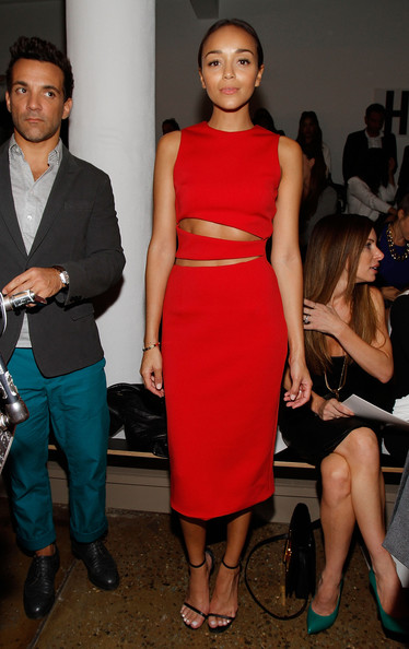 Ashley Madekwe - Cushnie Et Ochs - Front Row - MADE Fashion Week Spring 2014