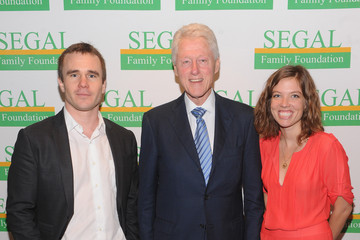 Ashley Rogers Bill Clinton Attends Segal Family Foundation Meeting