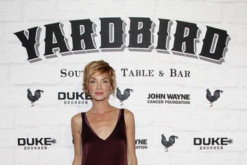 Ashley Scott Yardbird Southern Table & Bar Los Angeles Grand Opening