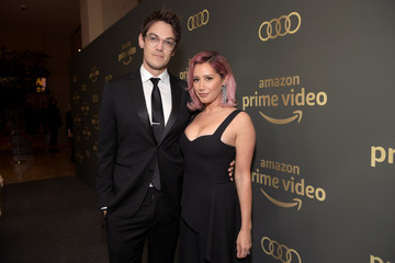 Ashley Tisdale Christopher French Amazon Prime Video's Golden Globe Awards After Party - Red Carpet