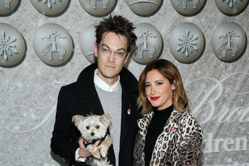 Ashley Tisdale Christopher French Brooks Brothers Annual Holiday Celebration To Benefit St. Jude - Arrivals
