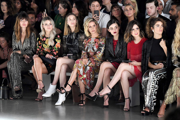 Naeem Khan - Front Row - September 2018 - New York Fashion Week: The Shows