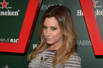 Ashley Tisdale Arrivals at the Heineken Star Bottle Event
