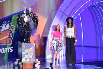 Ashley Wagner The Nickelodeon Kids' Choice Sports Awards 2015