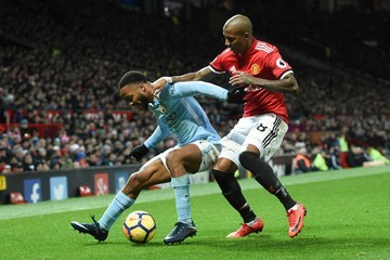 Ashley Young Manchester United v Manchester City - Premier League