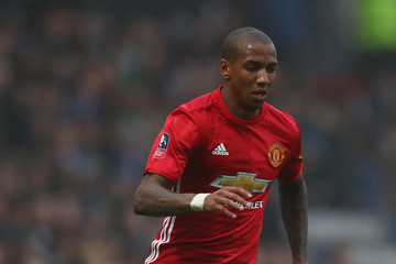 Ashley Young Blackburn Rovers v Manchester United - The Emirates FA Cup Fifth Round