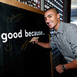 Ashton Eaton Life Is Good at the GOLD MEETS GOLDEN Event in Los Angeles