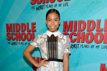 Asia Monet Ray Los Angeles Red Carpet Screening of 'Middle School: The Worst Years of My Life'