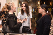 Louise Roe meets guests at Atelier Swarovski and Louise Roe Celebrate Awards Season At the Grove on February 22, 2017 in Los Angeles, California.