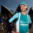 Antonia Kidman Athletes & Celebrities Take Part In The Sydney Running Festival