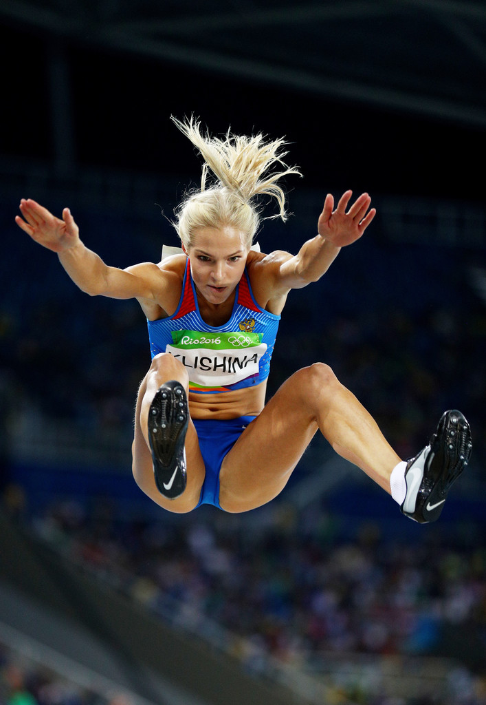 darya klishina photos photos athletics olympics day