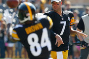 Ben Roethlisberger Antonio Brown Photos Photo