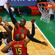Al Horford and Paul Millsap Photos