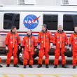 Piers Sellers Atlantis Astronauts Take Part In Dress Rehearsal For Shuttle Launch