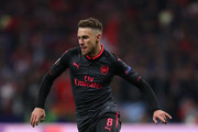 Aaron Ramsey of Arsenal during the UEFA Europa League Semi Final second leg match between Atletico Madrid  and Arsenal FC at Estadio Wanda Metropolitano on May 3, 2018 in Madrid, Spain.