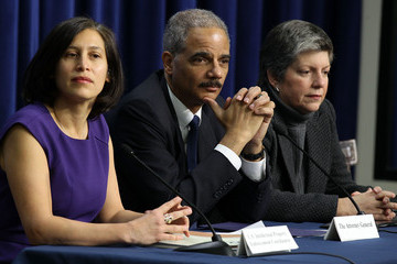 Victoria Espinel Attorney Gen. Holder And Homeland Security Head Napolitano Hold Forum On Intellectual Property Theft