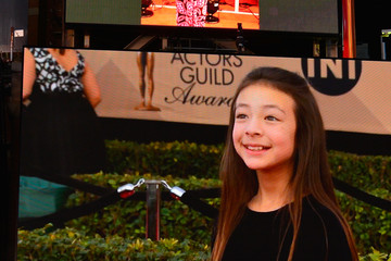 Aubrey Anderson-Emmons The 23rd Annual Screen Actors Guild Awards - Times Square Viewing